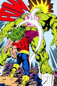 Doc Samson vs Hulk by John Byrne http://ebay.to/1MkkL4b