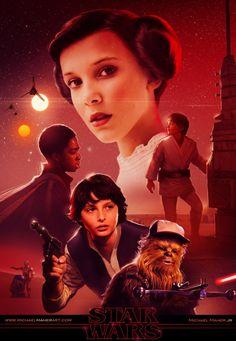 Star Wars - Stranger Things Crossover