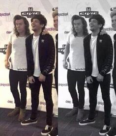 Owwww Louis looks so happy by his touch.(ღ˘⌣˘ღ) Larry Stylinson, Best Love Stories, Love Story, Rose And Dagger, Mutual Respect, Louis And Harry, Louis Williams, All Family, When You Realize
