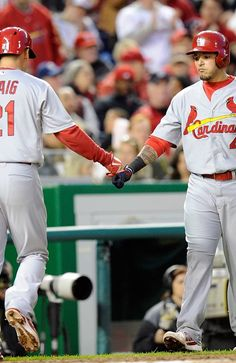 St Louis Cardinals v Washington Nationals...4/23/13