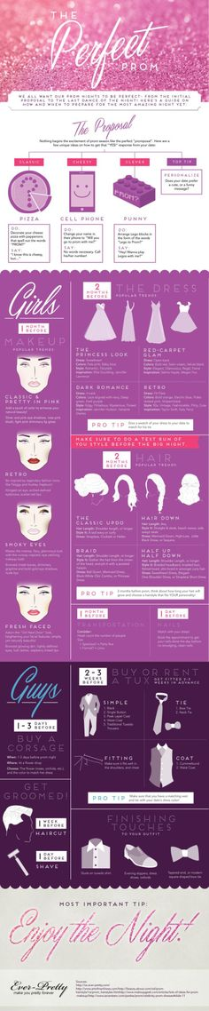 Get ready for prom - ideas and tips