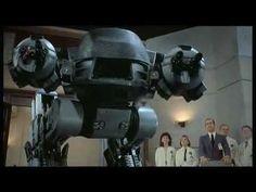 Robocop 1 - presentazione ED209
