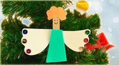 manualidades sencillas de navidad para niños - Buscar con Google Christmas Ornaments, Holiday Decor, Home Decor, Google, Ideas, Christmas Ornament, Cute Stuff, Activities, Celebrations