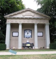 Diana's final resting place should