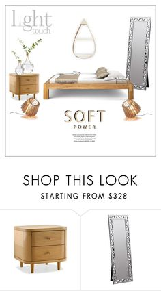 """""""TasteMaster Design Group - A Light Touch"""" by frenchfriesblackmg ❤ liked on Polyvore featuring interior, interiors, interior design, home, home decor, interior decorating, H&M, Cooper Classics and contemporary"""