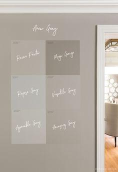 Living Room Paint Design, Grey Walls Living Room, Living Rooms, Best Greige Paint Color, Grey Paint, Room Paint Colors, Paint Colors For Living Room, Anew Gray Sherwin Williams, Mega Greige