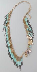 Laurel Canyon Gypset necklace/wrap bracelet