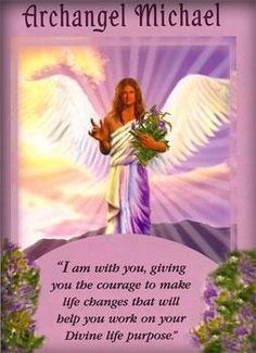 Archangel Michael Angel Card Extended Description - Messages from Your Angels Oracle Cards by Doreen Virtue Doreen Virtue, Arte Ganesha, Angel Protector, Archangel Prayers, Angel Readings, Free Angel, Angel Guidance, I Believe In Angels, Saint Michel
