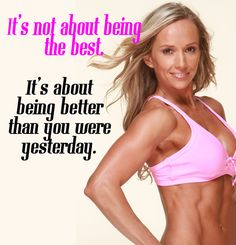 Motivational Quotes Fitness - Fitness For Women by Flavia Del Monte