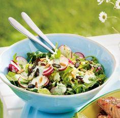 Radieschen-Rucola-Salat