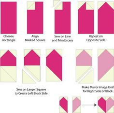 Heart Quilt - Make a Patchwork Heart Quilt and Quilt Blocks