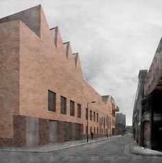 Caruso St John architects | Galería para Damien Hirst en Newport Street | Londres | 2014-2015