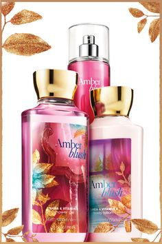 Make your BLUSH last all day! #AmberBlush #DailyTrio - LOVE this scent!