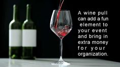 """A wine pull is a great stream of additional revenue for a fundraiser. A wine pull is a """"drawing"""" for wine at a fundraising event. For a person event,. Wine Pull, Silent Auction Baskets, Fundraising Events, Fundraisers, Extra Money, Red Wine, Make It Simple, Alcoholic Drinks, Youtube"""