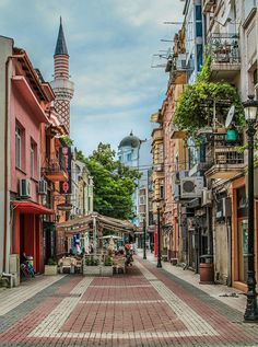Plovdiv, Bulgaria. Plovdiv is a picturesque town, with many parks and gardens, museums and archaeological monuments.
