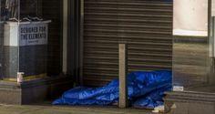 A homeless person sleeps in front of a shop on Grafton Street in Dublin city centre. Photograph: Dara Mac Donaill / The Irish Times Irish News, Grafton Street, Irish Times, Dublin City, Charity, How To Plan, Human Rights, Centre, Ireland