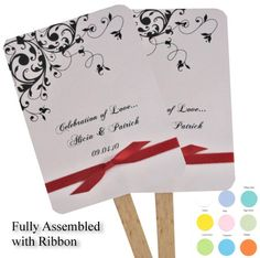 Reception, Pink, White, Green, Ceremony, Red, Orange, Wedding, Brown, Blue, Purple, Black, Yellow, Silver, Accent the party, Fans