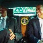 Barack Obama & Jerry Seinfeld: Cars Getting Coffee