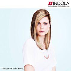 Για να προσθέσουμε κίνηση και όγκο σε αυτήν την  ELEMENTAL LUX κουπ, στεγνώσαμε τα μαλλιά προς κάθε κατεύθυνση, με χωρίστρα στη μία πλευρά. #Indola #BeautyWay