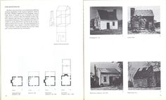 "Pamphlet Architecture No. 9 Rural and Urban House Types, Steven Holl -""One Room House"""