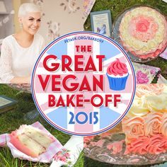 Last year's Great Vegan Bake-Off winner, Katy from Little Miss Meat-Free, has some tips on what makes for a winning baked good!  #vegan #veganbaking #veganrecipes #petauk