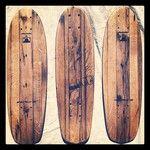 Fresh batch of our vintage oak minis!  #vintage #handmade #handcrafted #recycled #skateboarding #skateboard