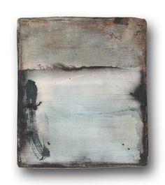 workman:  minor-arcana:  YAMANOBE Hideaki  Tone Element No. 25 Acrylic on canvas 2012 21 x 18 x 4 cm