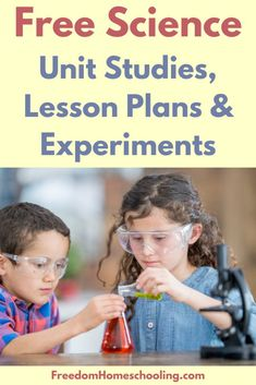 Free science unit studies, lesson plans, and experiments for all ages! Science Topics, Easy Science Experiments, Science Resources, Science Activities, Steam Activities, Science Ideas, Science Lesson Plans, Science Curriculum, Teaching Science