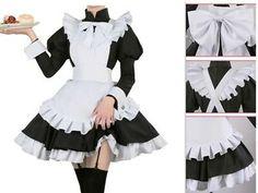 Maid Cosplay, Lolita Cosplay, Cosplay Dress, Cosplay Outfits, Anime Outfits, Cosplay Costumes, Cool Outfits, Costume Dress, Uniform Dress