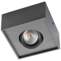 Gyro Cube Grafiet 8W LED 2700K SG lighting 923390