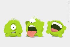Crumbs, new Ollimania characters on Behance