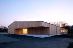 Neubau Ecole jurassienne du bois_Kury Stähelin Architekten_Delémont