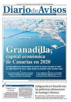 """David Cuesta en Twitter: """"Granadilla será la capital económica de Canarias en 2020, según Jaime González Cejas y José Carlos Francisco. https://t.co/tFURK6sG5y"""""""
