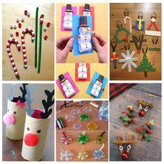 Bonitas manualidades de Navidad fáciles de hacer para niños Crafts For Kids, Christmas Ornaments, Holiday Decor, Ideas, Blog, World, Toddler Christmas Crafts, Christmas Activities, Preschool Crafts