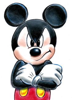 Mickey Mouse mourning Walt :'( ---Everyone that day lost a part of ...