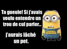 j'avoue pour les rageux - ALL Pin Citation Minion, Image Fun, Minions Quotes, Funny Cute, Funny Jokes, Funny Minion, Life Lessons, Quotations, Haha