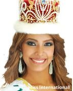 Miss International 2010: Venezuela - Elizabeth Mosquera