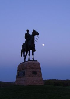 Statue of General Meade, Gettysburg battlefield, Gettysburg, PA