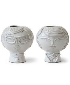 Jonathan Adler Vase, Utopia Williamsburg Reversible bud vase