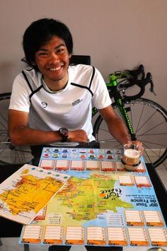 ツール・ド・フランスの出走メンバーに選出された新城選手。ツールを観る楽しみが一つ増えた!