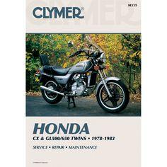Clymer Honda CX & GL500/650 (1978-1983) - https://www.boatpartsforless.com/shop/clymer-honda-cx-gl500650-1978-1983/