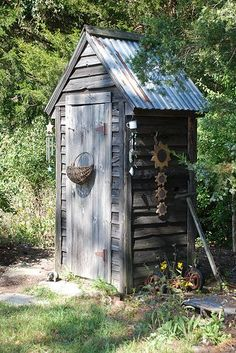 Outhouse...