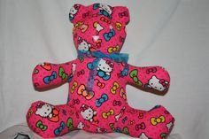 Your place to buy and sell all things handmade Scary Kids, Pink Hello Kitty, Very Scary, Hot Pink, Dinosaur Stuffed Animal, Bear, Trending Outfits, Children, Handmade Gifts