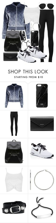 """""""Untitled #20852"""" by florencia95 ❤ liked on Polyvore featuring Boohoo, Native Union, Puma, Balenciaga, NIKE, Topshop, Monica Vinader and 3.1 Phillip Lim"""