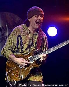 Carlos Santana.  Saw him twice in Minneapolis.