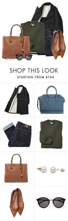"""""""Chilly September"""" by kingsamuel ❤ liked on Polyvore featuring Givenchy, Paige Denim, Barbour, MICHAEL Michael Kors and Yves Saint Laurent"""