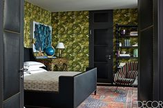 Green And Black Palette - ELLEDecor.com