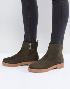 ASOS - ARCH - Ankle-Boots - Grün Jetzt bestellen unter:  https://mode.ladendirekt.de/damen/schuhe/stiefeletten/ankleboots/?uid=c5093ae0-fd00-5f49-a1cc-  ...
