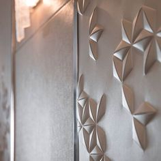 Hand crafted detailed leather wall panels.  #PolarStarYacht  #FMarchitettura www.fm-arch.it