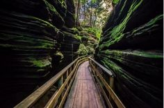 This Wisconsin slot canyon offers gorgeous views, close proximity to nature, and some of the oldest rock in the state.